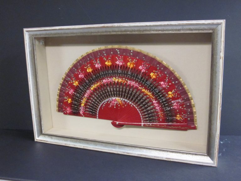 Spanish Fan Shadowbox