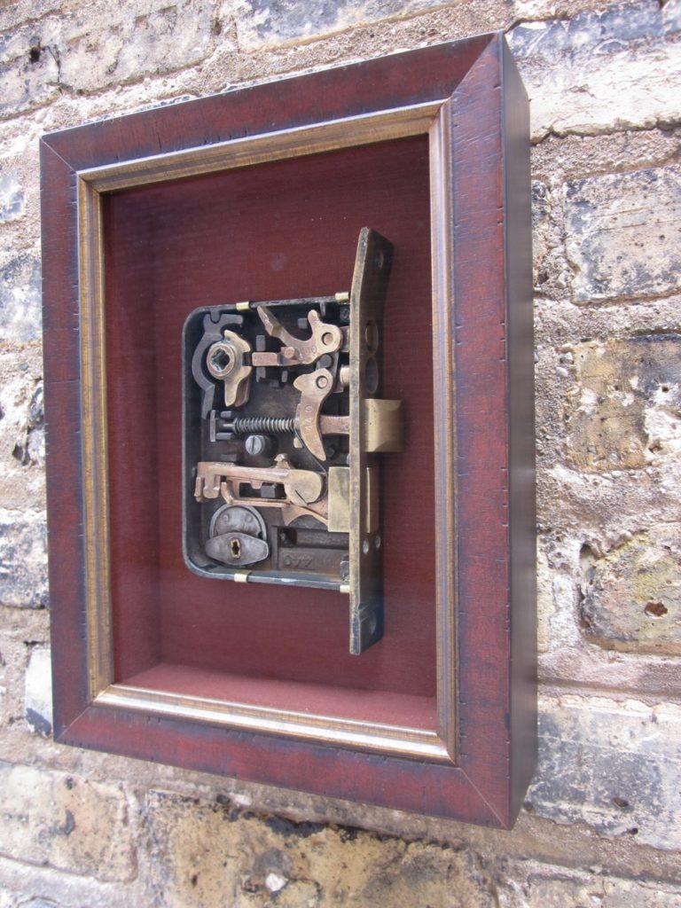 Vintage Doorlock Mechanism