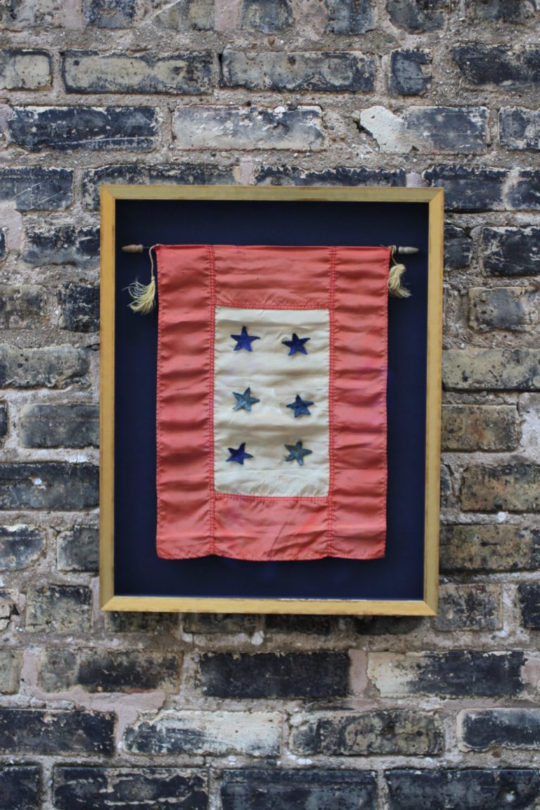 Vintage Armed Services Flag
