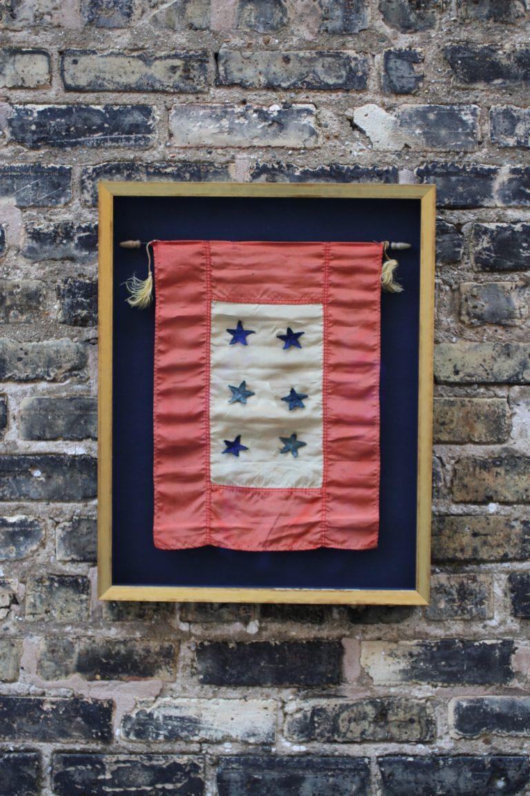 Vintage Armed Services Flag
